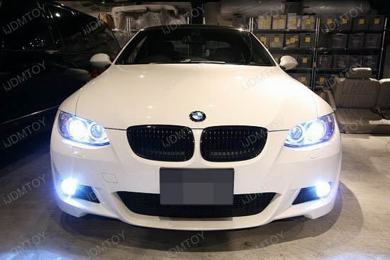 BMW - 335i - E92 - angel - eye - headlights - 1